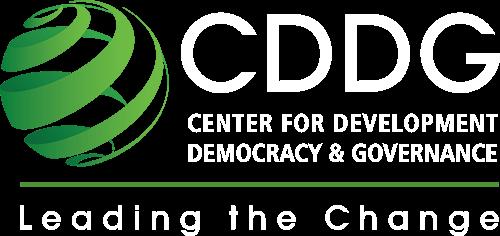 CDDG | Center for Development, Democracy & Governance