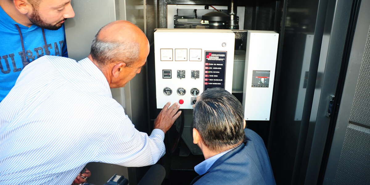 100 KVA Electrical Generator