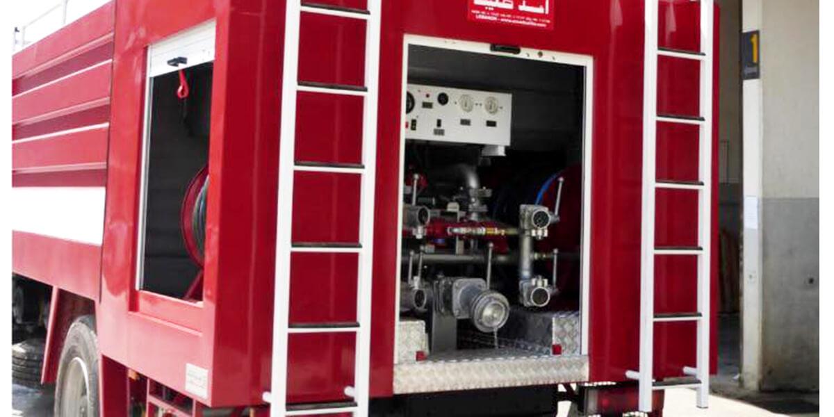 Fire Extinguisher Truck