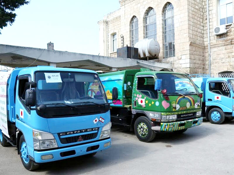 3 Garbage Compactor Trucks
